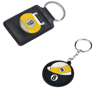 Billiards Key Chains