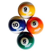 Replacement Pool Balls