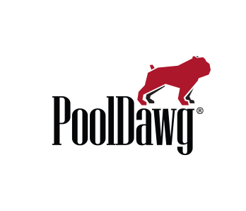 PoolDawg Patch Sticker Black