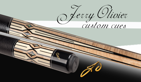Jerry Olivier Custom Cue Exclusive Design