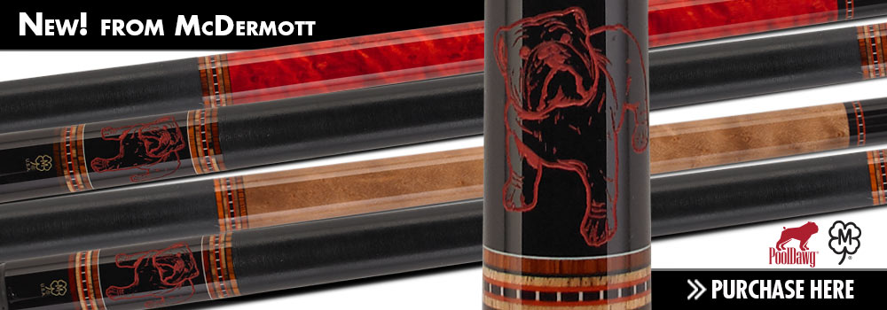 PoolDawg McDermott Special Edition Pool Cue