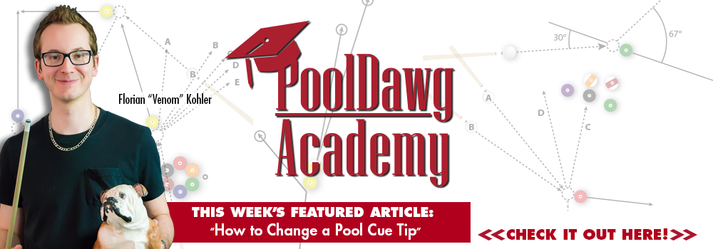 How to Change a Pool Cue Tip