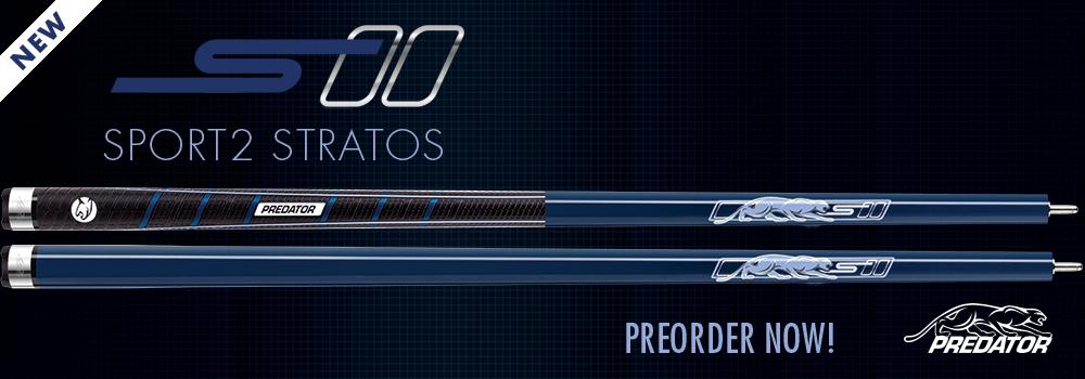 Predator Sport2 Stratos Pool Cue