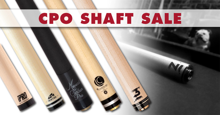 Clearance Pool Cue Shaft Sale banner
